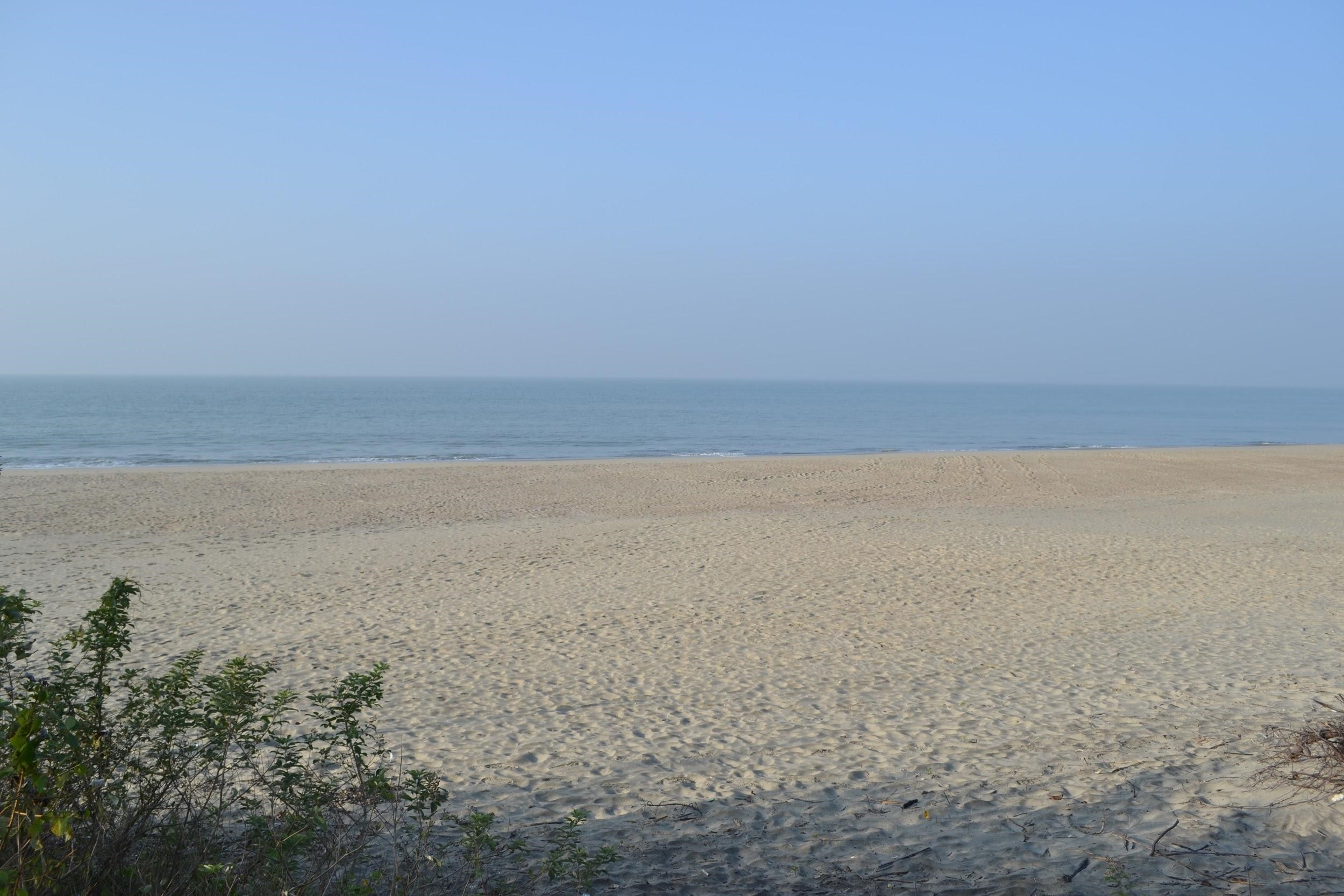 Sand Beach and Ocean Cox's Bazar