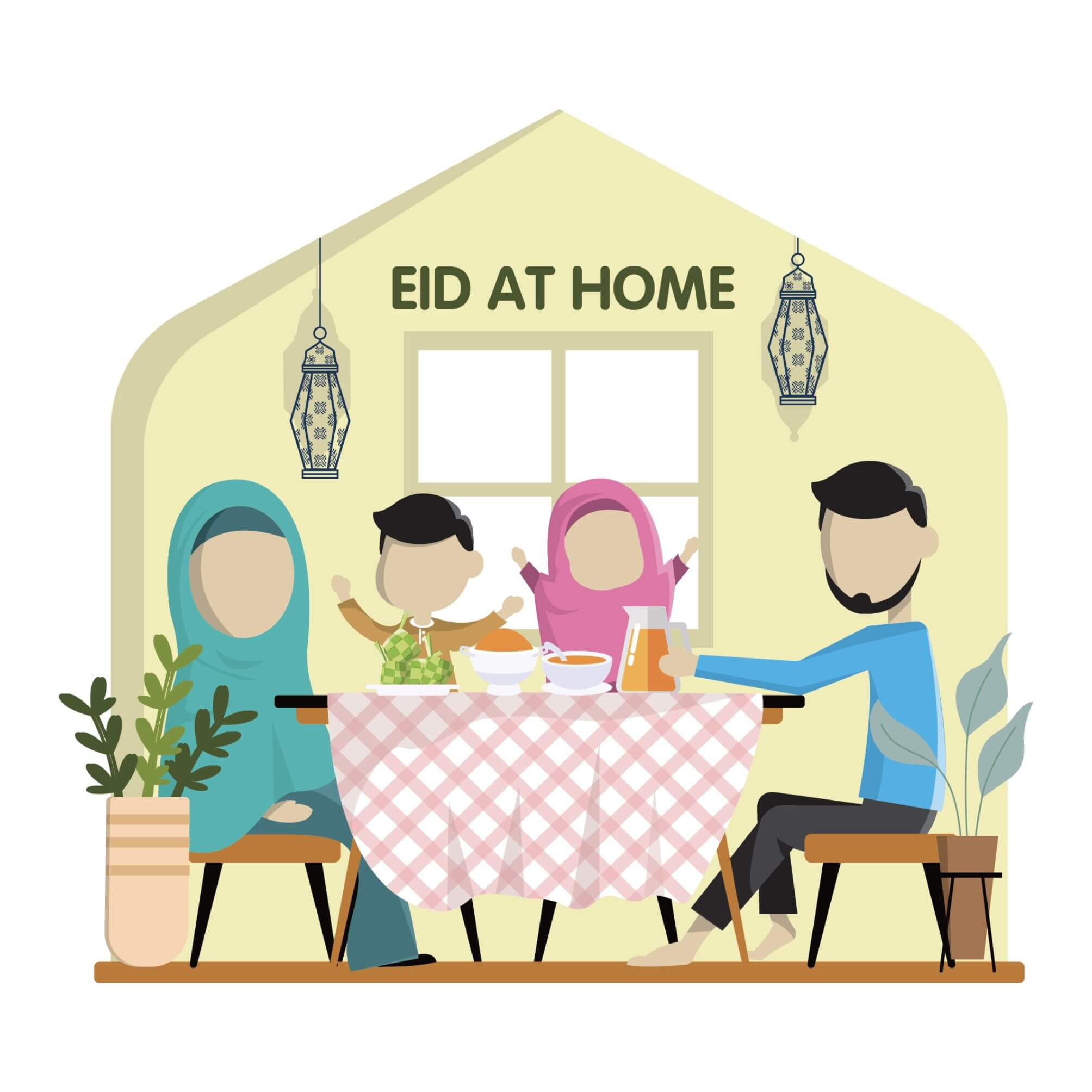 Ways to make your Eid day special at home