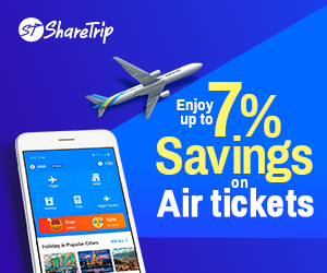 Up to 7% discount on flights