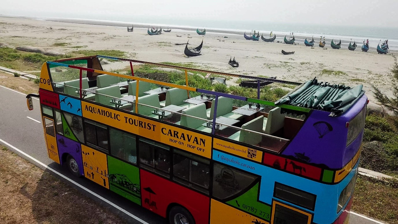 First ever Hop on Hop off tourist service in Bangladesh